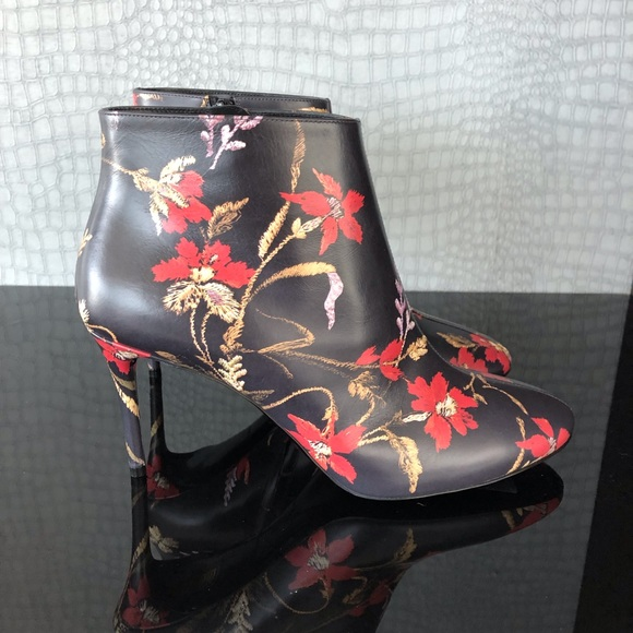 Floral Ankle Boots Women's Shoes Boots size 39